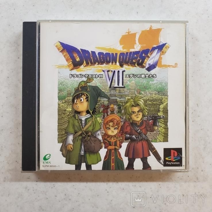 Dragon Quest VII (PS1) 2 discs, фото №2