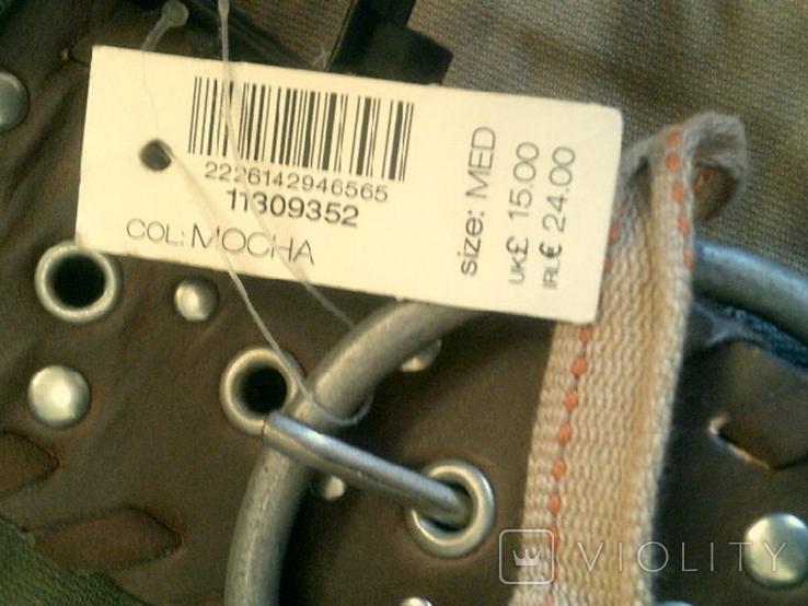 Sabotage semper unique - плотные шорты с ремнем, фото №8
