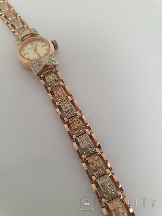 Золотые часы Gold Line 17 Jewels 585 проба, фото №7