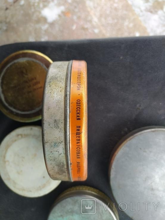 Коробки СССР из жести. 5 штук., фото №7