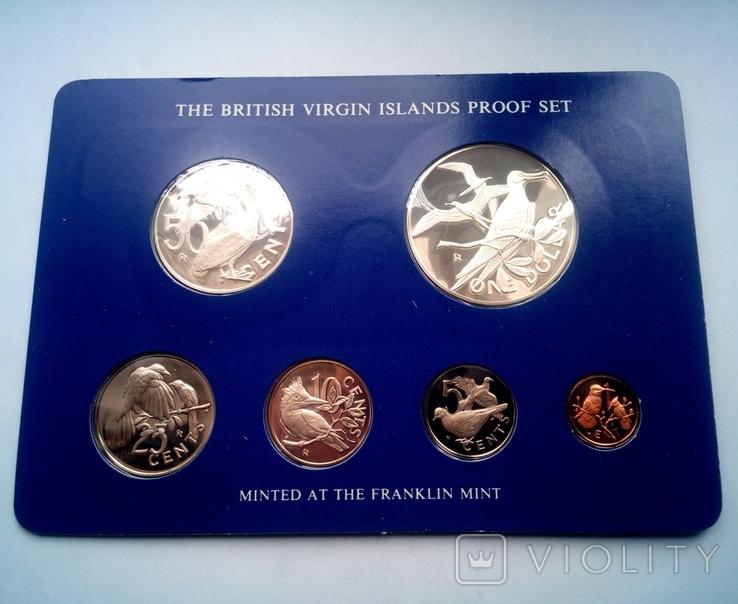 Британские Виргинские острова годовой набор 1975 г. - ПРУФ, фото №4
