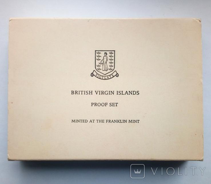 Британские Виргинские острова годовой набор 1975 г. - ПРУФ, фото №9