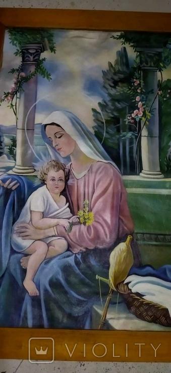 Икона Богородицы с Исусом, фото №5