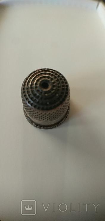Наперсток серебряный. 875 проба. СССР., фото №7