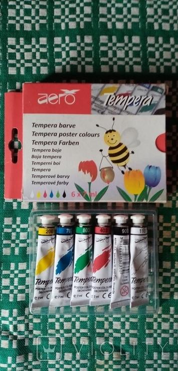 Краски Tempera ... фарба темпера, фото №2