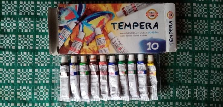 Краски Tempera ... фарба темпера, фото №5