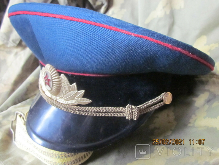 Фуражка парадно-выходная, бархат. Союз., фото №3