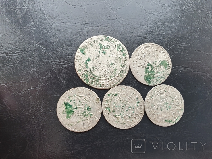 Лот средневековых монет, фото №2