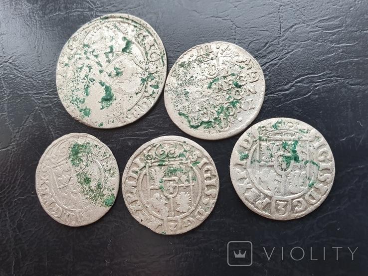 Лот средневековых монет, фото №7