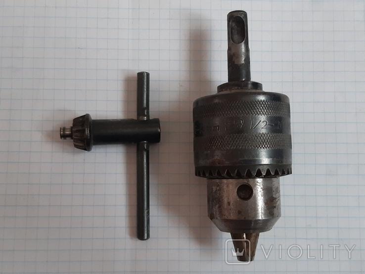 Патрон для перфоратора под сверла 1,5-13 мм, фото №2