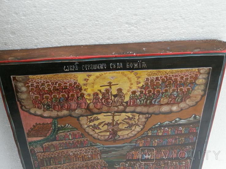 Икона страшный суд 410мм.Х 320мм, фото №3