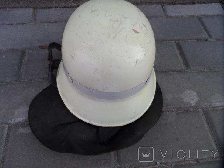 Каска шлем пожарного Европа лот 2, фото №7
