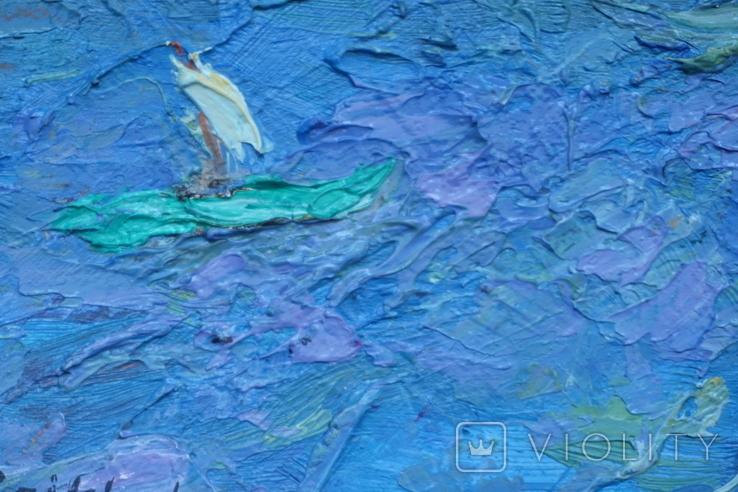 Кораблики в море. Подпись, фото №5