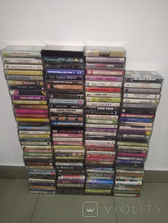 Колекция аудиокасеты 130 шт, фото №2