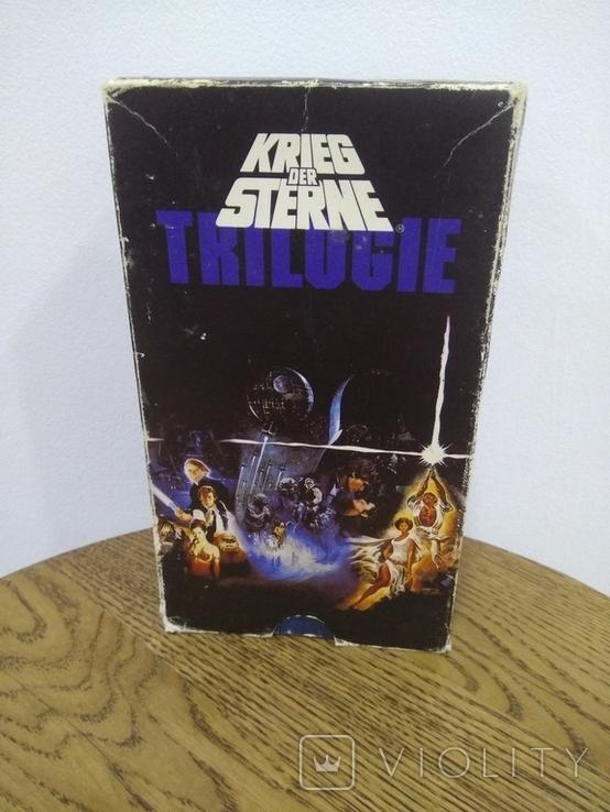 Видеокассеты 3 шт звёздные войны, фото №3