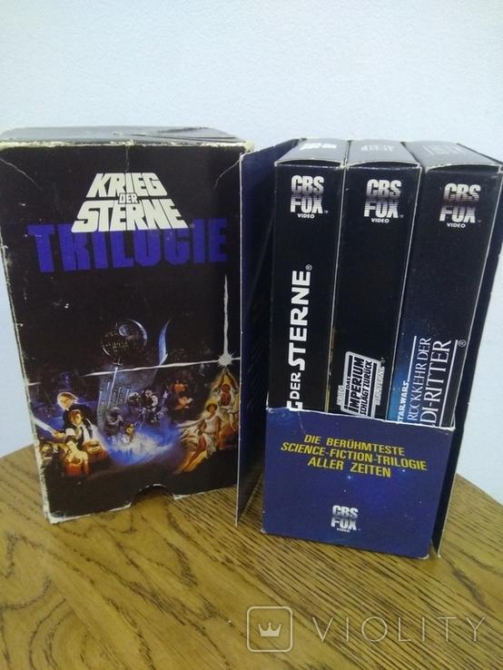 Видеокассеты 3 шт звёздные войны, фото №4