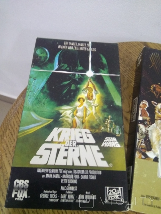 Видеокассеты 3 шт звёздные войны, фото №5
