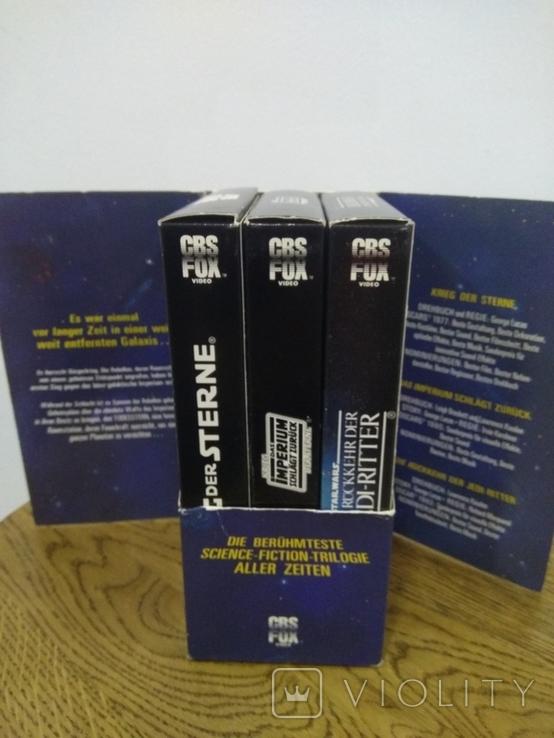 Видеокассеты 3 шт звёздные войны, фото №8