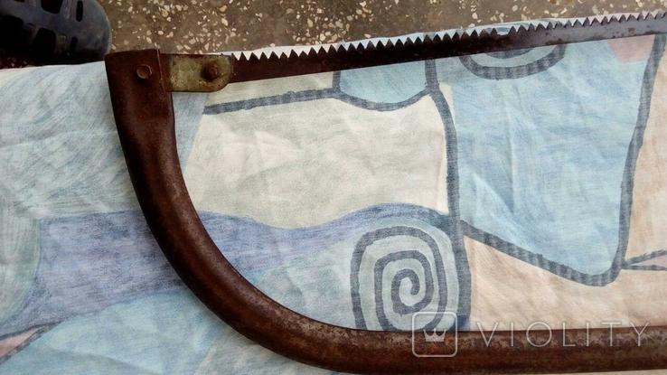 Пила лучковая металлическая, фото №6