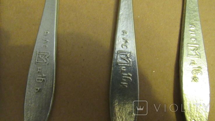 Ложки алюминиевые 5 штук, фото №5