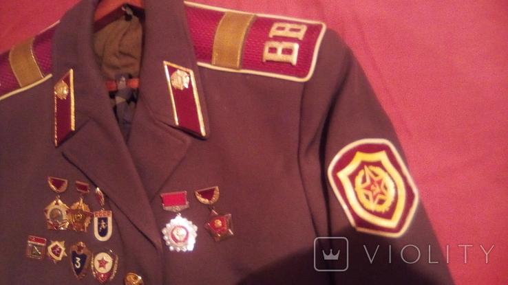 Парадка Китель ВВ дивизия им. Дзержинского 1974 г., фото №3