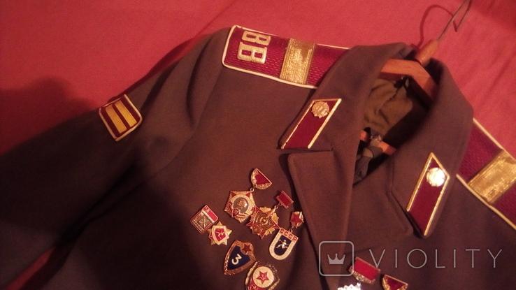 Парадка Китель ВВ дивизия им. Дзержинского 1974 г., фото №4