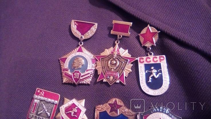 Парадка Китель ВВ дивизия им. Дзержинского 1974 г., фото №7