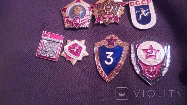 Парадка Китель ВВ дивизия им. Дзержинского 1974 г., фото №8