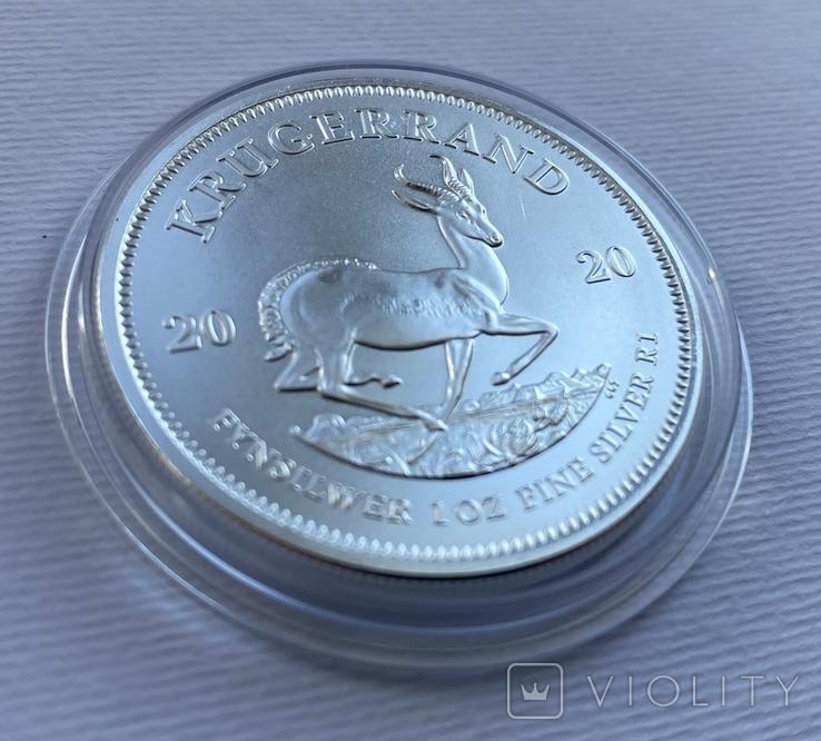 Крюгерранд ЮАР 2020 Африка Крюгеранд, фото №5