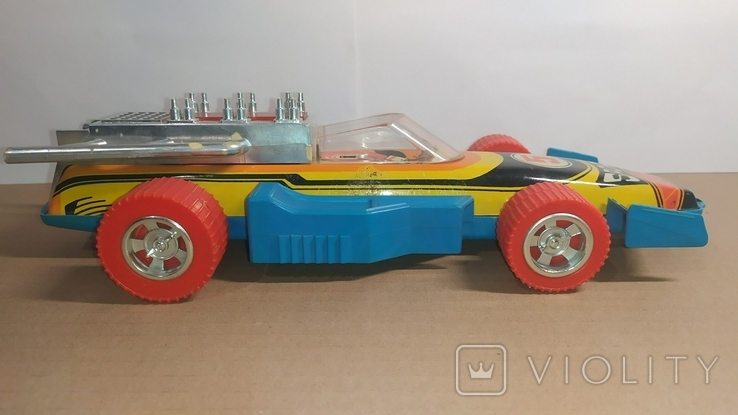 Гоночный автомобиль. SPORT 5. Формула 1. Игрушка СССР., фото №2