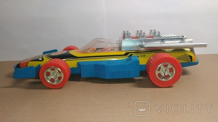 Гоночный автомобиль. SPORT 5. Формула 1. Игрушка СССР., фото №3