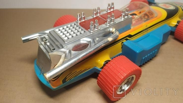 Гоночный автомобиль. SPORT 5. Формула 1. Игрушка СССР., фото №5