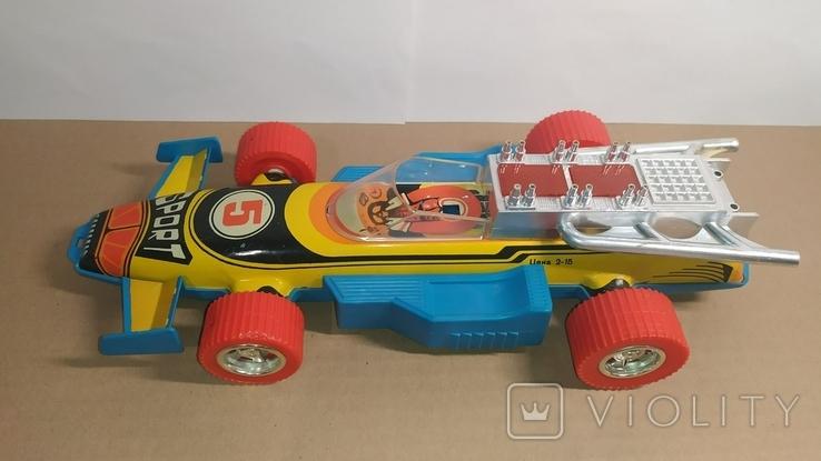 Гоночный автомобиль. SPORT 5. Формула 1. Игрушка СССР., фото №8