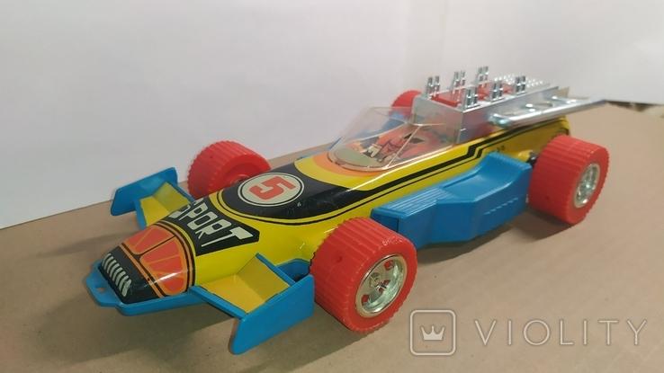 Гоночный автомобиль. SPORT 5. Формула 1. Игрушка СССР., фото №9