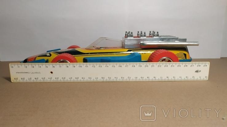 Гоночный автомобиль. SPORT 5. Формула 1. Игрушка СССР., фото №12