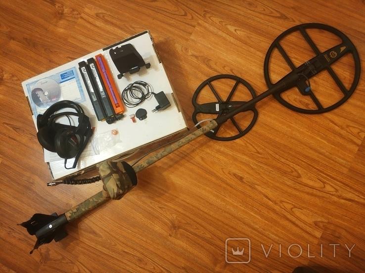 Minelab E-trac металошукач мультичастотний, фото №2
