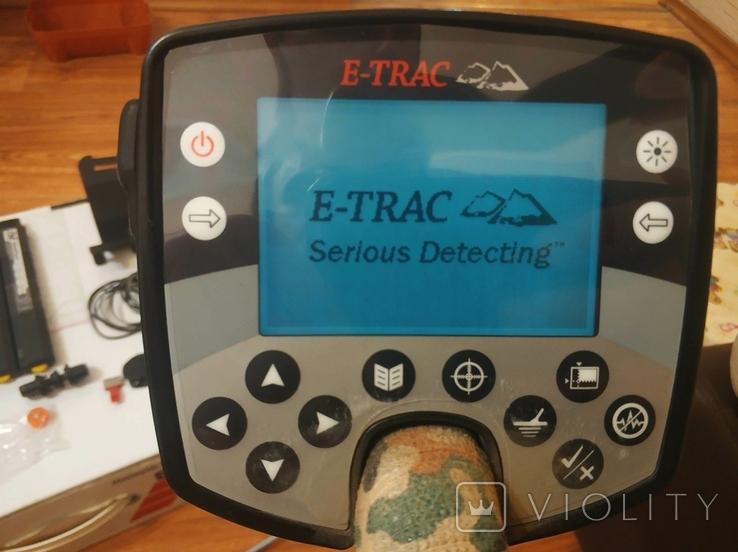 Minelab E-trac металошукач мультичастотний, фото №11