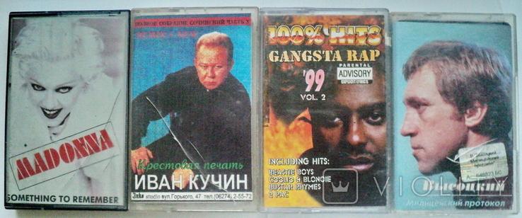 Аудио кассеты 15 шт, фото №4
