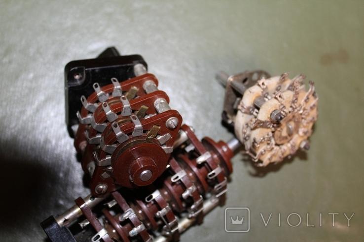 Переключатели галетные, лот №180206, фото №4