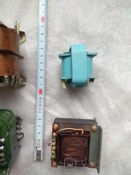 Радиодетали трансформаторы питания., фото №3