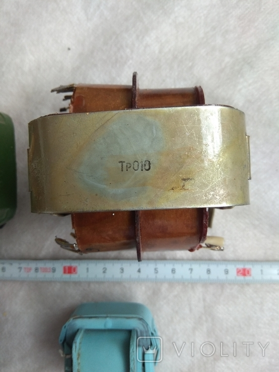 Радиодетали трансформаторы питания., фото №4