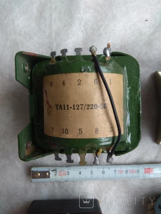 Радиодетали трансформаторы питания., фото №5