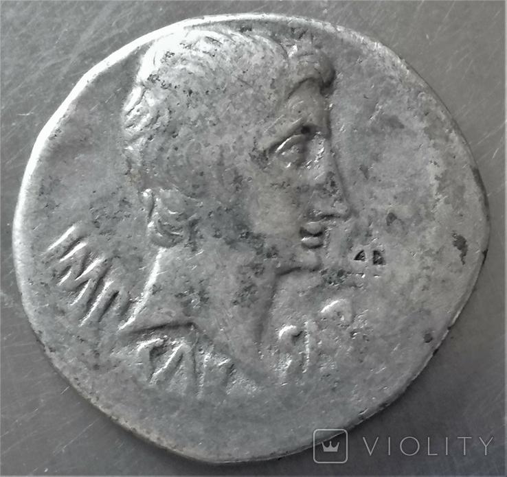 Кістофор Октавіана Августа, Іонія, Ефес, срібло, фото №2