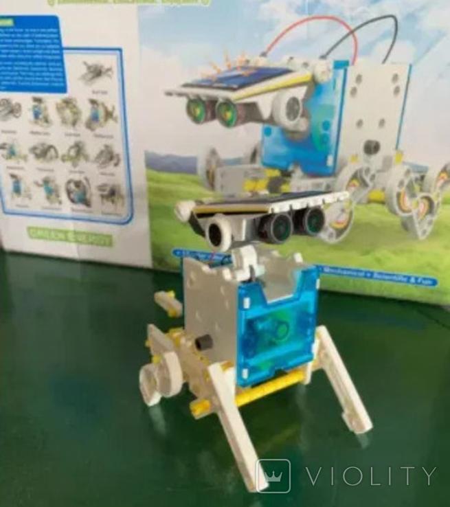 Конструктор - робот 13 в 1 на солнечных батареях., фото №3