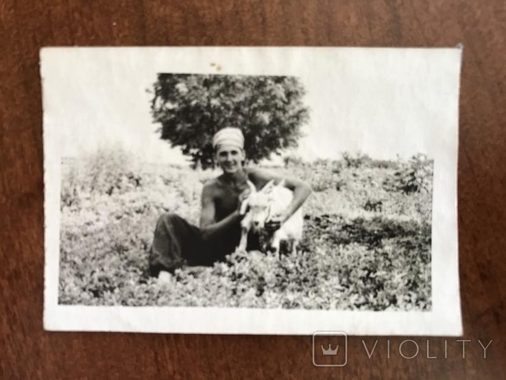 В огороде с козой Коза, фото №5