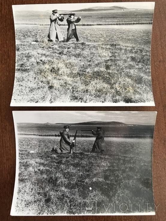 На охоте два фото, фото №2