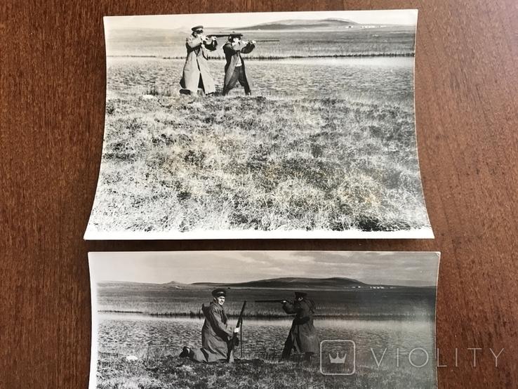На охоте два фото, фото №3