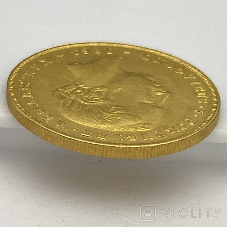 5000 реалов. 1863. Португалия (золото 917, вес 8,82 г), фото №8
