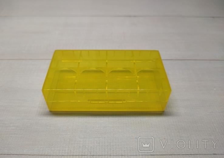 Коробка, бокс, футляр, кейс, для аккумуляторов 18650