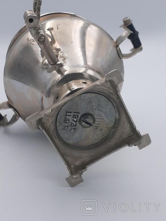 Сувенирный самовар Ясная Поляна 1973 год., фото №3